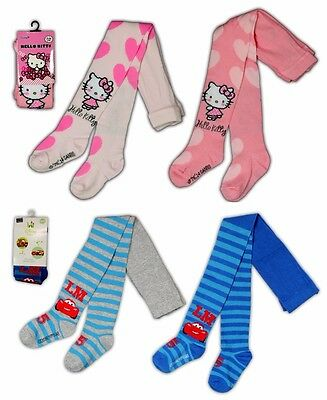 Hello Kitty Cars Strumpfhose Baby 62 68 74 80 86 Junge Mädchen Leggings Kinder