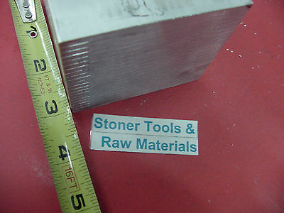 """6 pieces 3"""" X 3"""" ALUMINUM 6061 SQUARE BAR 3"""" long Solid T6511 Flat Mill Stock"""