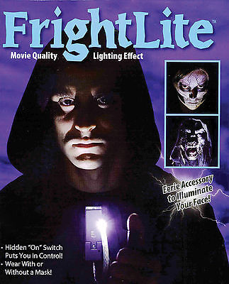 Fright Lite Halloween Face Light Lighting Effects Costume Accessory Led