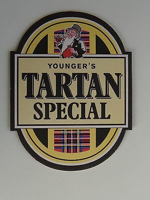 Beer Coaster ~ YOUNGER'S Tartan Special ** See STORE for 1000s of Coasters,Caps+