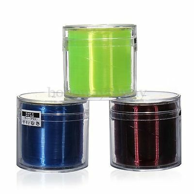 500M Nylon Coated String Transparent Clear Monofilament Fishing Line 0.1~0.5mm