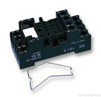14 PIN IP20 RELAY SOCKET - Part Number CRBF/15-4C