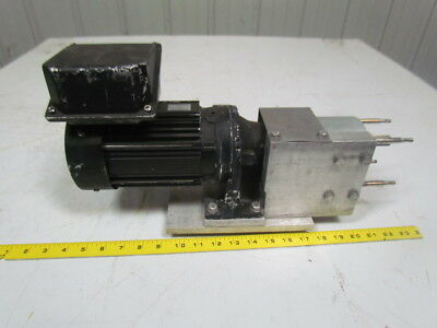 Unibloc-GP Flowtech food grade pump bearing housing w/sm-cyclo 1/2hP motor