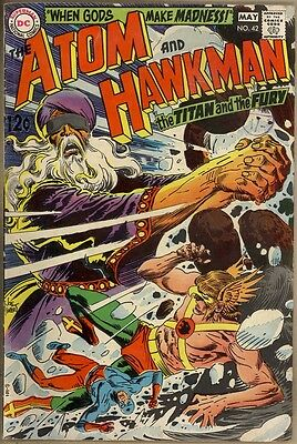 Atom And Hawkman #42 - VG/FN