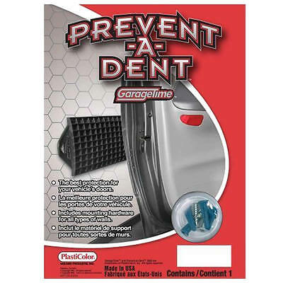 PREVENT-A-DENT Black Wall Guard Car Door Bump Protector for garage home use