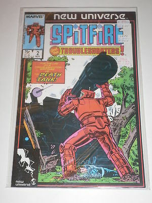 Spitfire & TroubleShooters #2 NM Marvel Comics Nov 1986