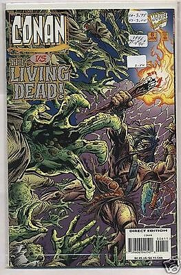 Conan Vs. The Living Dead # 6 Marvel Comics '96 VF/NM