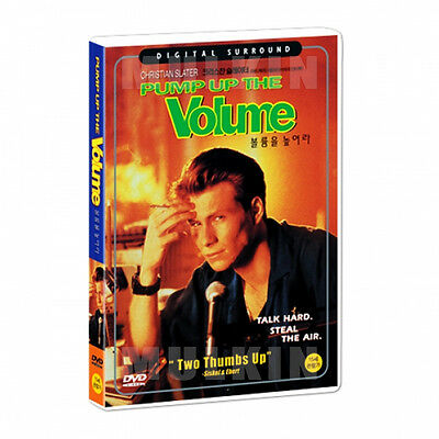 Pump Up The Volume (1990) DVD - Christian Slater (New *Sealed *All Region)