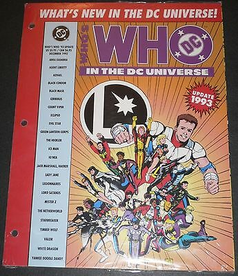 Who's Who in the DC Universe 48 Page Dec 1992 UPDATE VFNM Green Lantern Corps