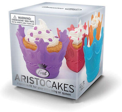 New Aristocakes Cupcake Cup Cake Moulds Fit For a King or Queen