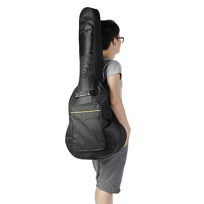 """Guitar Back Bag Carry Travel Case 42"""" Full Size For Acoustic Classical Padded"""