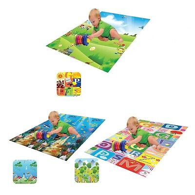 Kids Eva Interlocking Soft Foam Activity Puzzle Play Mat Double Sided Play Mat