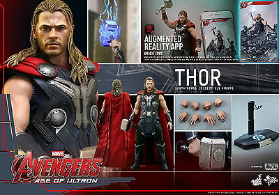 Hot Toys 1/6 Marvel Avengers Mms306 Age Of Ultron Thor Masterpiece Action Figure