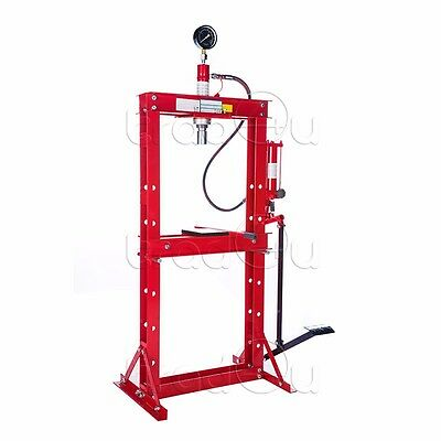 Hydraulic Workshop Garage Shop Floor Standing Press 12 ton with foot pedal