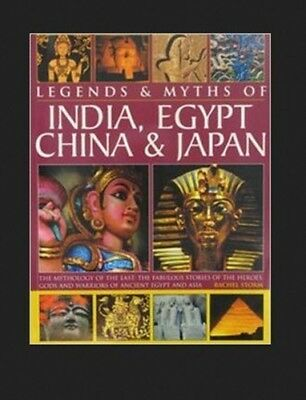 """NEW """"Legends and Myths of India, Egypt, China & Japan"""" Large HC by R. Storm"""