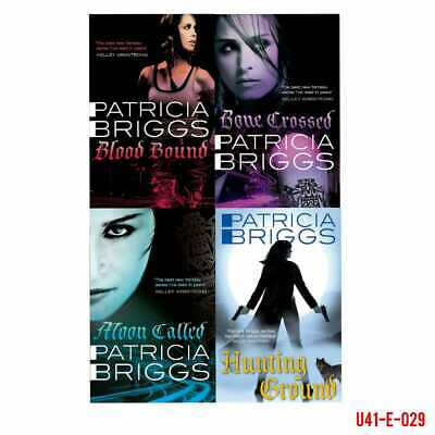 Patricia Briggs Mercy Thompson 5 Books Collection Set Iron Kissed Moon Called