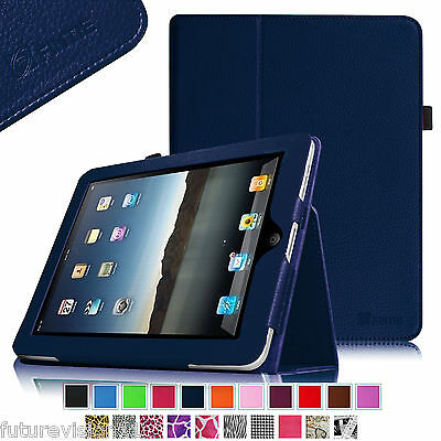 Leather Case Cover For Apple iPad 1 1st Gen Original Generation Card Stand