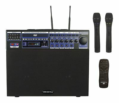 Vocopro DVD SOUNDMAN 4 Channel All In One PA Sysytem Karaoke CD-G