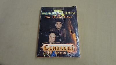 Babylon 5 Board Game Centauri 2259 Starter Kit Sealed