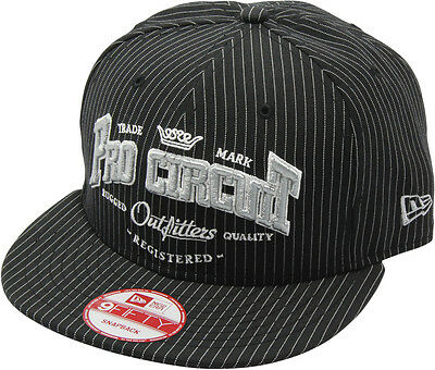 Pro Circuit Racing Adult Outfitter New Era Black Snapback Adjustable Hat