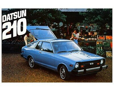 1979 Datsun 210 Factory Photo ca3464
