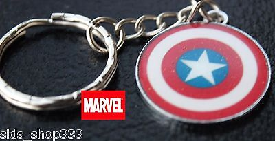 Marvel Comics Captain America Shield The Avengers Movie small Key chain cosplay