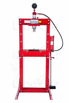 Hydraulic Workshop Garage Shop Floor Standing Press 20 ton with foot pedal