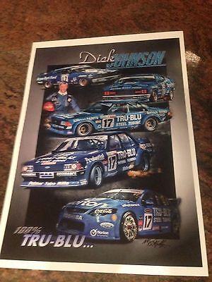 DICK JOHNSON FORD 100% Tru Blue BATHURST Print
