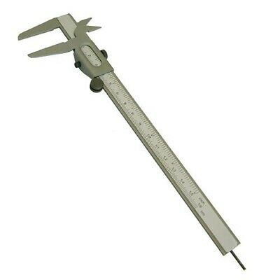 "6"" 150Mm Nickel Plated Fin Engineers Rule Steel Vernier Micrometer Caliper Ruler"