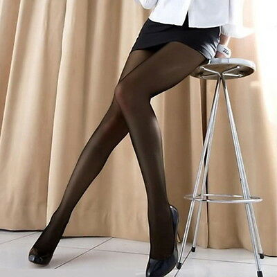 New Fashion Women transparent Tights Pantyhose Color Stockings GU