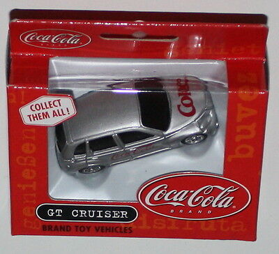 COCA COLA VINTAGE 2001 Brand Toy Vehicles GT CRUISER Chrysler 7cm in Box