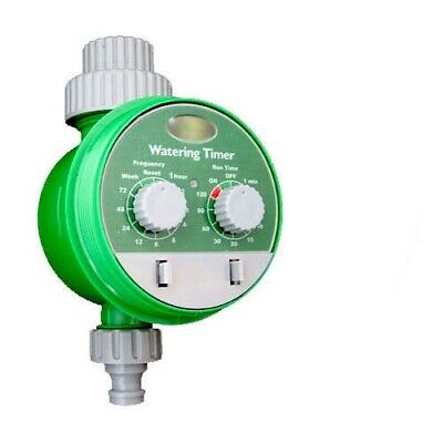 Automatic Electronic Garden Hose Irrigation System Water Timer Plant Watering
