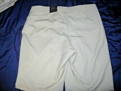 Lane Bryant Lena Beige Classic Un Cuffed Trouser T3 Tighter Tummy Technology