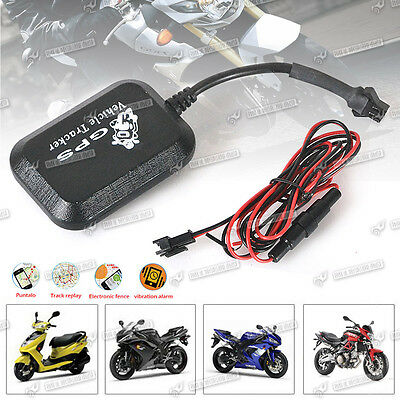 Realtime GPS GPRS GSM Tracker For Vehicle/Motorcycle Tracking Device Spy Bug