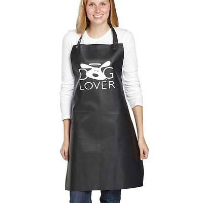 Dog Pet Grooming Apron - Dog Lover - Dog Is Good - Black