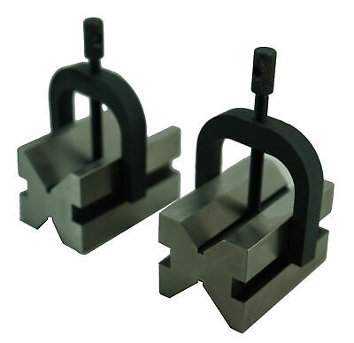 2.50 X 1.73 X 2.76 Inch V-Block & Clamp Set (3402-0954)