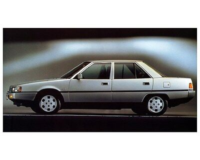1987 Mitsubishi Galant Automobile Photo Poster zca3230