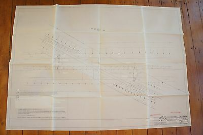 1986 Pentre Clawdd Provision of TMO Barriers Railway Plan Diagram Signals