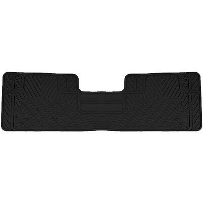 Black All Weather Heavy Duty Rubber Floor Mat Universal Car Truck SUV