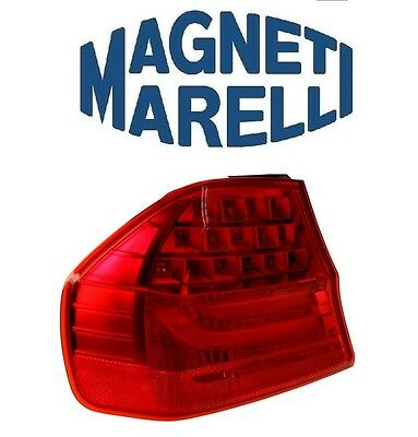 BMW 325i Magneti Marelli Left Outer Tail Light Assembly LUS5682 63217289429