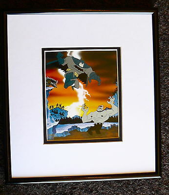 Batman Legends Of The Dark Knight Framed Cel Promo Card