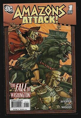 Amazons Attack 1 DC 2006