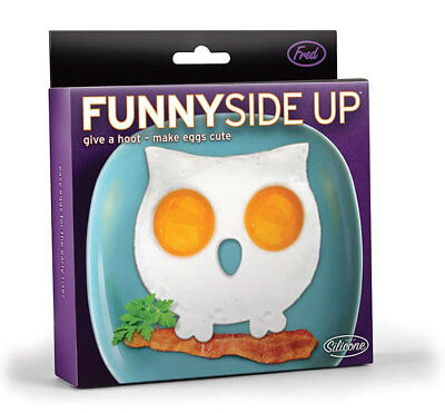 New Fred Funny Side Up Owl Shaped Fried Eggs Mould Cooking Kitchen
