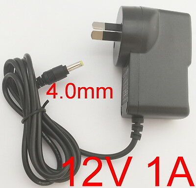 AC 100-240V Adapter DC 12V 1A Switching power supply 1000mA AU 4.0mm x 1.7mm New