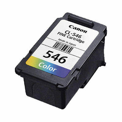 Genuine Canon CL 546 Colour Ink Cartridge For PIXMA MG2450 Inkjet Printer