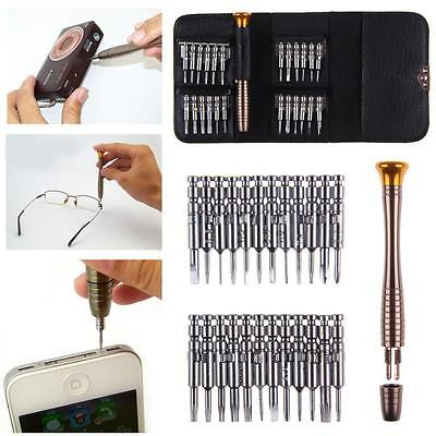 25 in 1 Screwdriver Set Opening Repair Tools Kit For Cellphone watches Camera