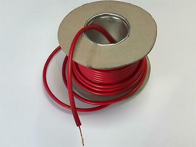 Car Quality 7mm Flexible Red Ht High Tension Ignition Lead / Cable Per Metre