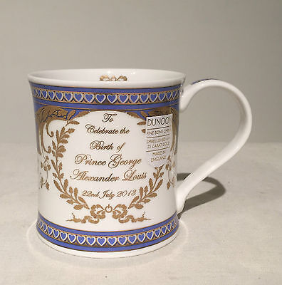 Dunoon Royalty Commemorative Prince George Birth Mug Baby