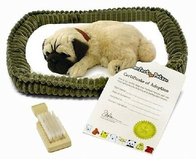 Perfect Petzzz Pug Life Stuffed Animal Breathing Dog - New in Box (40391)