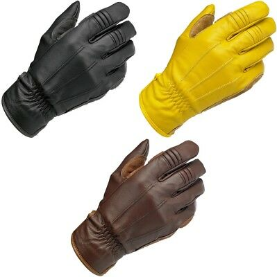 Biltwell Work Leather Vintage Motorcycle Gloves All Sizes All Colors